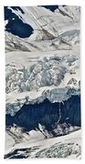Deep Snow Beach Towel
