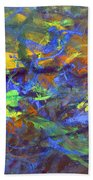 Deep Space Abstract Art Beach Towel