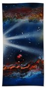 Deep Space Cavern Beach Towel