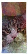 Deep Thoughts - Square Version Beach Towel
