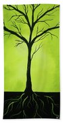 Deeply Rooted Beach Towel