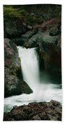 Deer Creek Falls Beach Towel