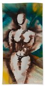 Defining Her Place More Than Series No. 1406 Beach Towel