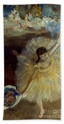 Degas: Arabesque, 1876-77 Beach Towel