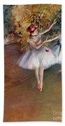 Degas: Dancers, C1877 Beach Towel
