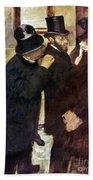 Degas: Stock Exchange Beach Towel
