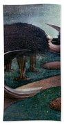 Degouve: Angels, 1894 Beach Sheet