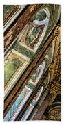 Delicate Details Versailles Chateau Up Close Interior France  Beach Towel
