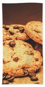 Delicious Sweet Baked Biscuits  Beach Towel
