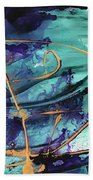 Delight II Beach Towel