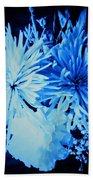 Delightfully Blue Beach Towel