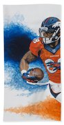 Demaryius Thomas Beach Towel