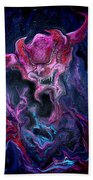 Demon Fire Beach Towel