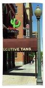 Denver Downtown Storefront Beach Towel