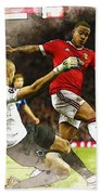Depay In Action Beach Towel