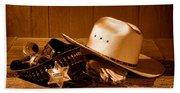 Deputy Sheriff Gear - Sepia Beach Sheet
