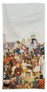 Derby Day Beach Towel