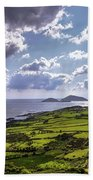 Derrynane National Park Along Ring Of Kerry, Ireland Beach Towel