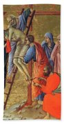 Descent From The Cross 1311 Beach Towel