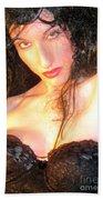 Desdemona - Fierce - Self Portrait Beach Towel