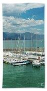 Desenzano Del Garda Lighthouse Italy Beach Towel