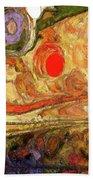 Desert Blossoms Beach Towel