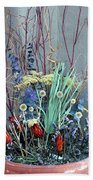 Desert Flowers Beach Towel