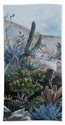 Desert Garden Beach Towel