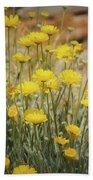Desert Marigold Bouquet  Beach Towel