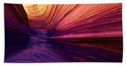 Desert Rainbow Beach Towel