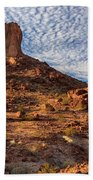 Desert Spire Beach Towel