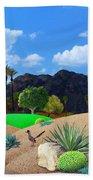 Desert Splendor Beach Sheet