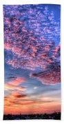 Desert Sunset 2 Beach Sheet