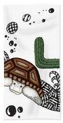 The Desert Tortoise Beach Towel
