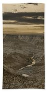 Desert View II - Anselized Beach Towel