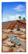 Desert Vista Beach Towel by Snake Jagger