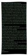 Desiderata 21 Beach Towel
