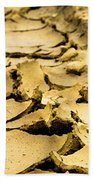 Designs In The Mud Beach Towel