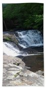 Desoto Falls In Alabama Beach Towel