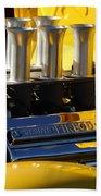 Desoto Firedome Eight Engine Beach Towel