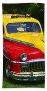 Desoto Skyview Taxi Beach Towel