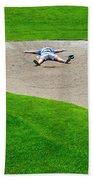 Desperate Golfer Beach Towel