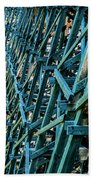 Detail View Of The Kinsol Trestle Beach Towel