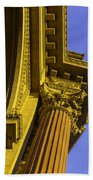 Details Palace Of Fine Arts Beach Towel