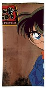 Detective Conan Beach Sheet