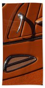 Deucenberg Hot Rod Interior Door Beach Towel
