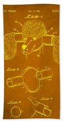Device For Protecting Animal Ears Patent Drawing 1c Beach Towel