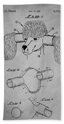 Device For Protecting Animal Ears Patent Drawing 1l Beach Towel