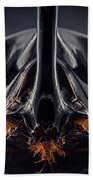 Devil Horn Focus Stack Beach Towel