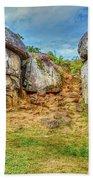 Devils Den Gettysburg Beach Towel